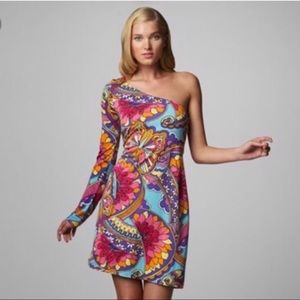 Lilly Pulitzer Whitaker Paisley Mod Mini Dress S